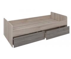 Односпальная кровать с выдвижными ящиками Квест S