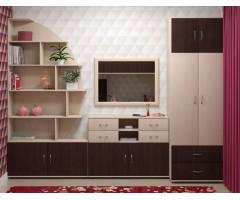 Модульная комната стенка из 4 предметов Квест-В