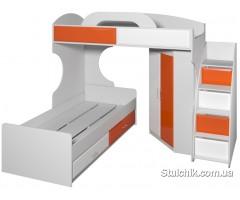 Двухъярусная кровать - композиция Пионер МДФ 1