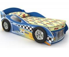 Кровать детская Briz Driver 5 синяя