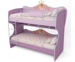 Двухъярусная подростковая кровать Cinderella