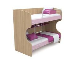 Подростковая двухъярусная кровать Акварели