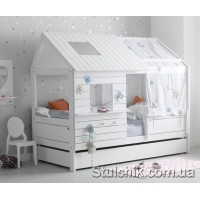 Дитяче ліжко будиночок Дербі