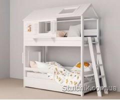 Двухэтажная кровать домик Гарри