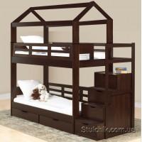 Двухъярусная кровать из массива Остин Плюс