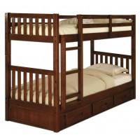 Двоярусне ліжко Мілан