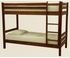 Двоповерхове ліжко з дерева Біола