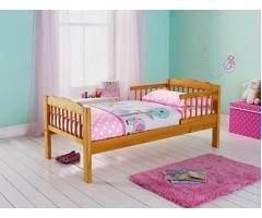 Дитяче дерев'яне ліжко Лідія з шухлядами і бортами