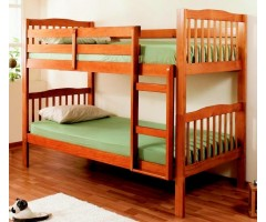 Дерев'яне двоярусне ліжко Емін