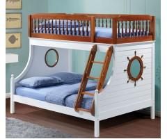 Двухъярусная кровать для троих деток Кайро