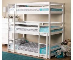 Трьох'ярусне ліжко з масиву вільхи Кодо