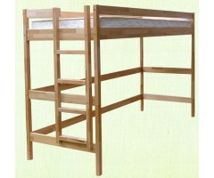 Подростковая деревянная кровать-чердак Гелла