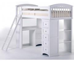 Детская кровать-чердак Вилнорд с рабочей зоной