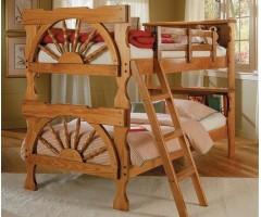 Двухъярусная кровать из массива дерева Стимер
