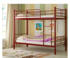 Двухъярусная металлическая кровать Эмма с Матрасами