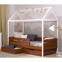 Ліжко-хатинка з щита буку Аммі