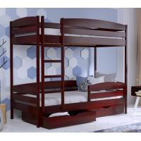 Двухъярусная кровать из бука Дуэт Плюс массив