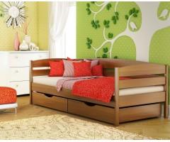 Кровать подростковая из массива бука Нота Плюс
