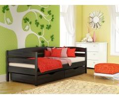 Кровать подростковая из щита бука Нота Плюс