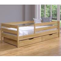 Кровать подростковая из щита бука Нота