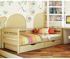 Ліжко підліткове з бука масив Нота