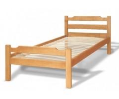 Детская кровать из цельного массива дерева Ева