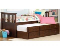 Детская кровать из массива дерева Гарленд