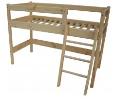 Двухъярусная кровать-чердак Аладдин 122-150 см
