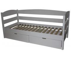 Белая подростковая кровать Альбина