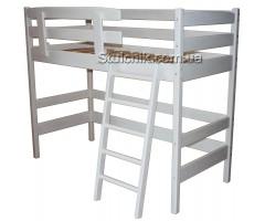 Современная белая кровать-чердак Сонви