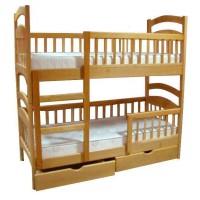 Двухъярусная кровать Карина Люкс льняное масло