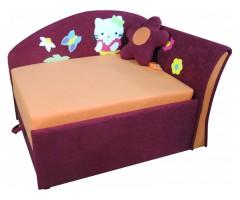 Дитячий кутовий диван-малятко Мрія Кітті для дівчинки 02M041