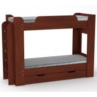 Двоярусне дитяче ліжко Твікс