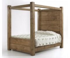 Кровать из массива дерева Лилия