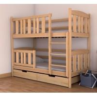 Двухъярусная современная буковая кровать Челси