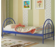 Металлическая кровать для подростка Алиса Люкс