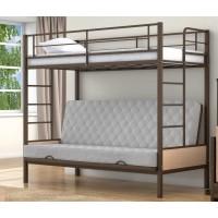 Двох'ярусне ліжко з розкладним спальним місцем Дакар