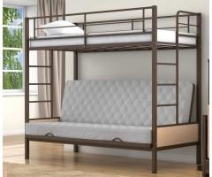 Двухъярусная кровать с раскладным спальным местом Дакар