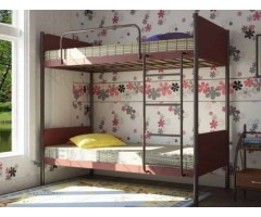Двухъярусная подростковая кровать Арлекино
