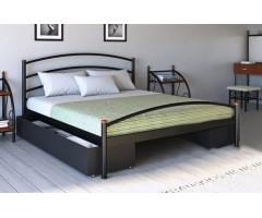 Металлическая кровать Маргарита двуспальная