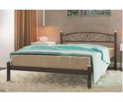 Двуспальная металлическая кровать Вероника