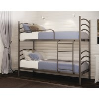 Двухэтажная металлическая кровать-трансформер Маргарита