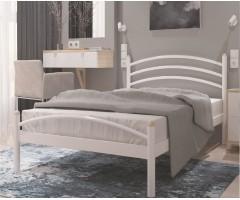 Металлическая односпальная кровать Маргарита мини