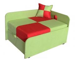 Дитячий зелений розкладний диван-малятко Міні 10M24