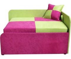 Дитячий рожевий кутовий розкладний диван-малятко Міні 10M22