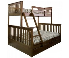 Двоярусне ліжко Буратіно 90/140х200 см