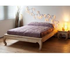 Кровать из массива дерева Опиум