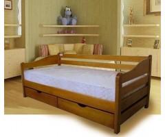 Кровать подростковая Оскар со спинкой