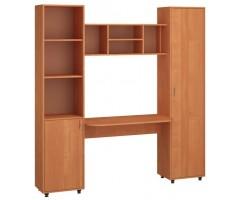 Стенка с двумя шкафами и столом Джерри ДСП