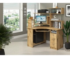Комп'ютерний стіл Компакт з надбудовою